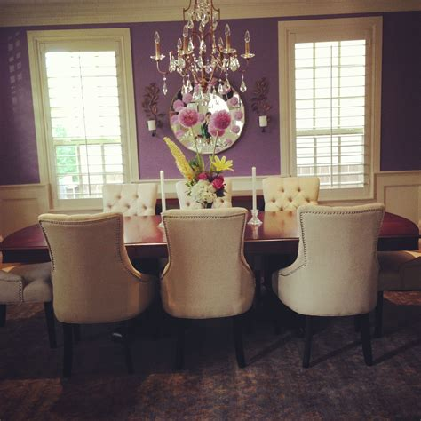 purple dining rooms purple dining room for the home pinterest