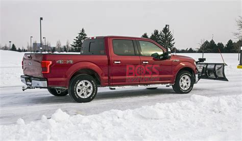ford   snow plow  action