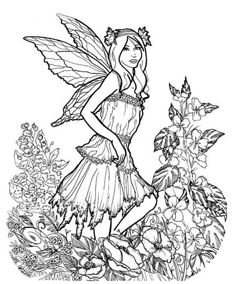 1000 images about faerie coloring pages on pinterest