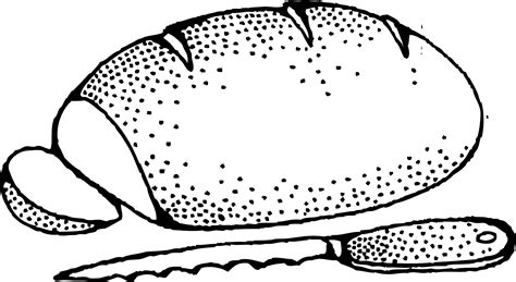 loaf of bread cartoon clipart best