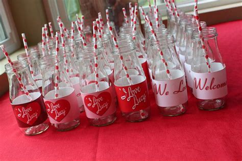 love themes for parties i love lucy baby shower party ideas photo 9 of 16
