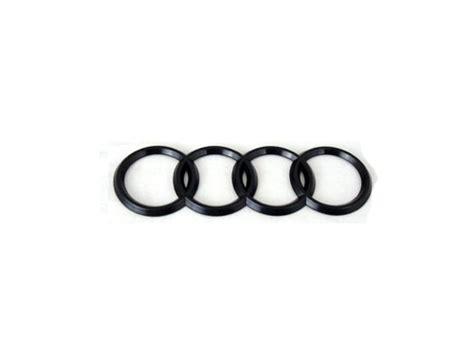 Audi 4 Rings by For Sale Black Audi 4 Rings Trunk Emblem