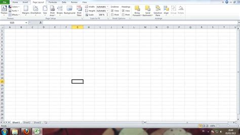 page layout in excel 2013 page layout excel word tutorial