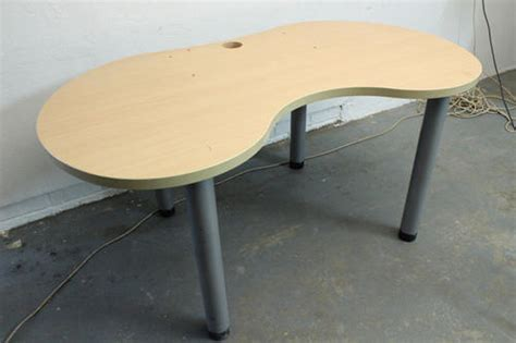 Kidney Bean Shaped Desk Furniture Kidney Bean Shaped Desk Was Sold For R180 00 On 22 Feb At 21 46 By Timeless Board