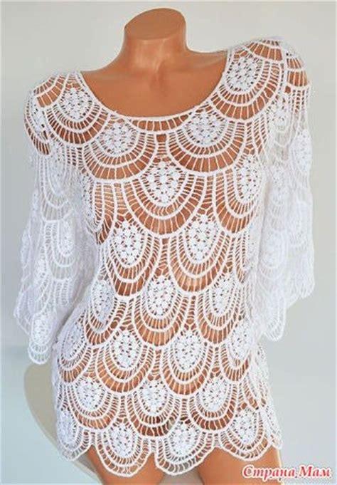 delicadezas en crochet gabriela blusa de encaje tejido pinterest croch