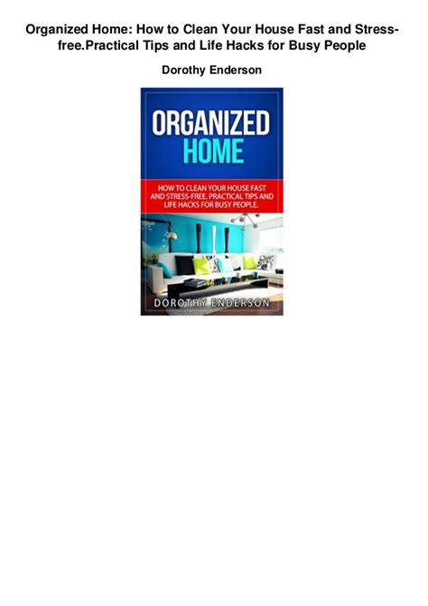 how to cleanse your house organized home how to clean your house fast and stress freepractical