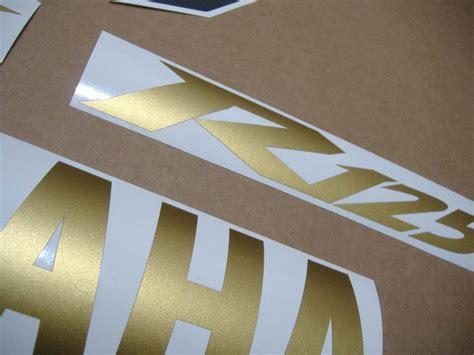 Kit Stickers Yamaha Yzf R125 by Yamaha Yzf R125 2012 2011 Decals Set Kit White