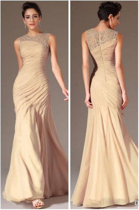 Gaun Pesta Panjang Bahan Silk Dan Bertali Dekorasi Manik Longdress trend fashion model baju pesta brokat jual baju pestaku murah