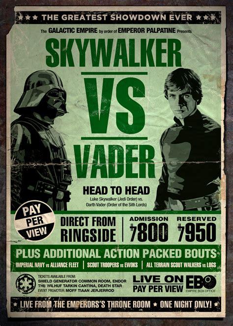 imagenes retro de star wars alternative posters for star wars battlestar galactica
