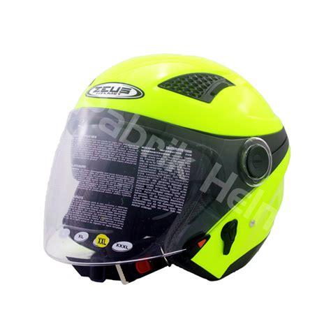 Helm Kyt Hijau helm zeus zs 610 hijau stabilo glossy pabrikhelm jual helm murah