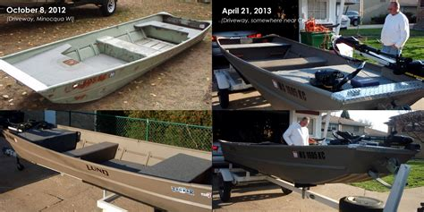 fishing boat restoration fishcast blog boat restoration completed meet the muskie