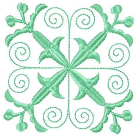 Quilt Block Embroidery Designs by Set 4 Square Quilt Blocks Machine Embroidery Designs Ebay