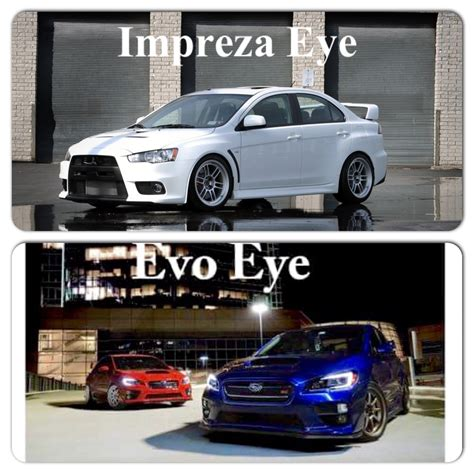 If U Think We Should Call The New Subaru Evo Eye Well
