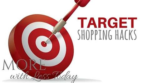 target hacks 20 awesome target shopping hacks
