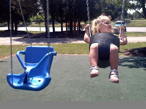 park swings for babies ann van middlesworth accessible playground kid pt