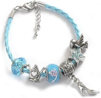 7 Pretty Charms For Your Daughters Charm Bracelet by Pretty Blue Charm Bracelet For