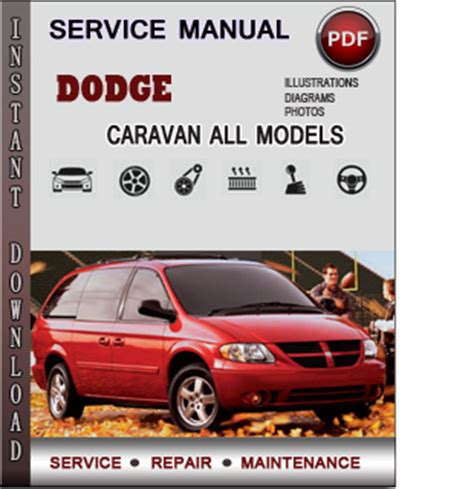 dodge caravan service repair manual download info service manuals