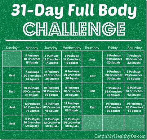 31 days of yes an month of and freedom books 1000 images about 30 day and daily workout plans on
