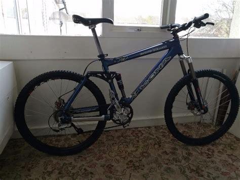 kona dawg deluxe full suspension mountain bike