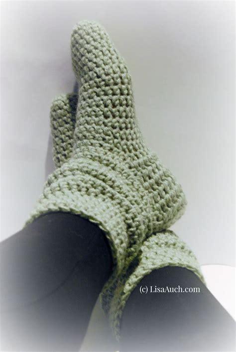 Easy Free free crochet socks easy crochet slipper patterns ideal