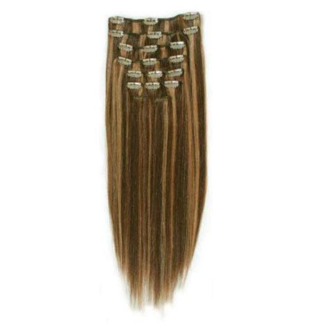 4 clip in hair extensions hair extensions clip on 50 cm slingat h 229 r
