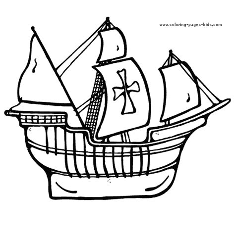 free coloring pages of and boats