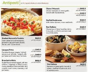 olive garden menu menu for olive garden mid valley city