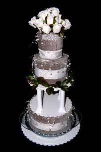 wedding towel cakes swaddlestar gift cakes