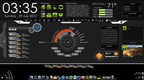 Layout For Pc | advanced pc hud desktop integration best pc layout by