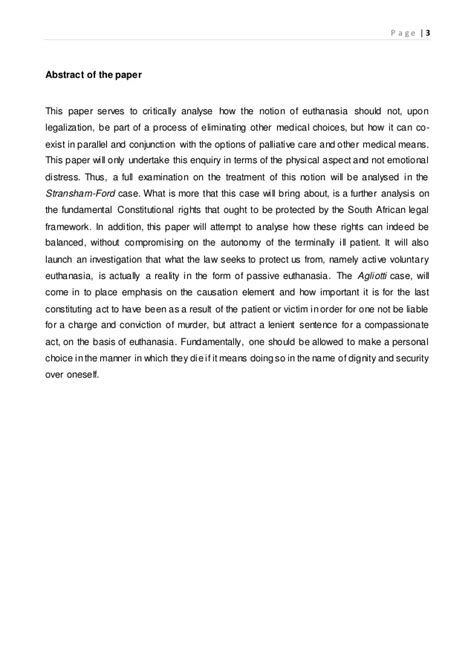 Legalizing Euthanasia Essay by Euthanasia Essay Abstract Essays On Canadian Writing Labs Ayucar