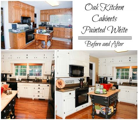 remodelaholic how to paint your kitchen cabinets remodelaholic from oak kitchen cabinets to painted white