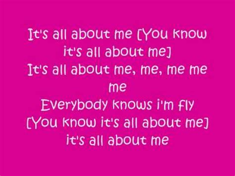 About Me Me Me - its all about me by chelsea staub youtube