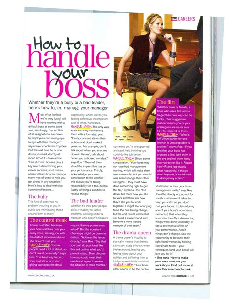 cosmopolitan article cosmopolitan how to handle your