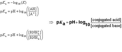 Protonated Definition by When The Ph Of The Solution Is Equal With P K A The