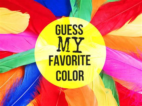favourite colour can we guess your favorite color playbuzz