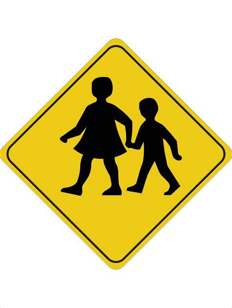 printable road signs australia children crossing discount safety signs australia