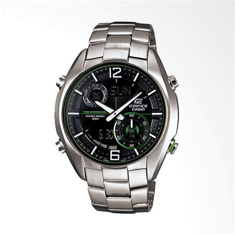 Jam Tangan Casio Ae1000wd 1a Pria Stainless Steel Silver Digit jual casio edifice world time illuminator