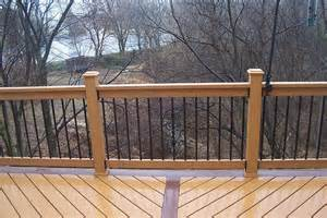 Wooden Porch Spindles Deck Railing Here S Some Deck Railing With Woode