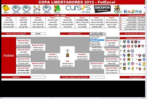 Año 0 Calendario Tabela Da Copa Libertadores 2012