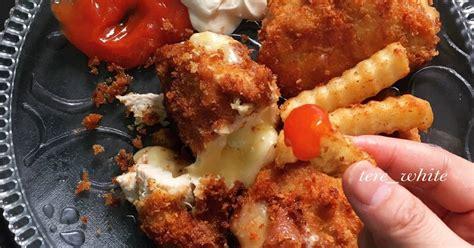ayam fillet mozarella 81 resep cookpad