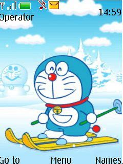 doraemon themes x2 01 free nokia x2 02 x2 05 doraemon software download in