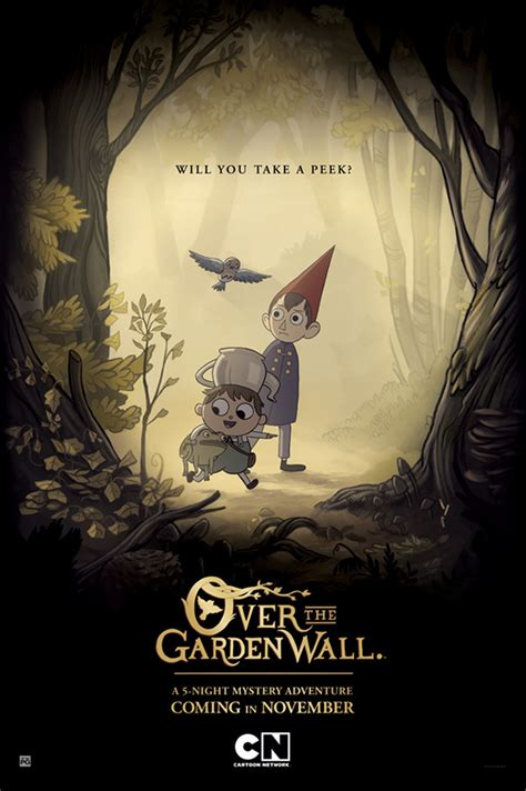 elijah wood over the garden wall serie recomendada over the garden wall cine chasquilla