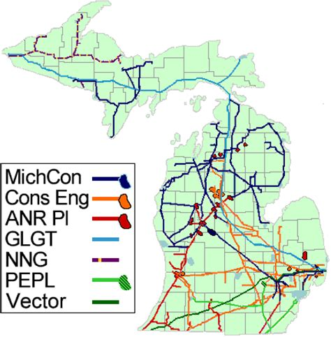 high voltage power lines map michigan delta county eda utilitites