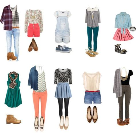 High School Wardrobe by 1000 Ideas About High School On