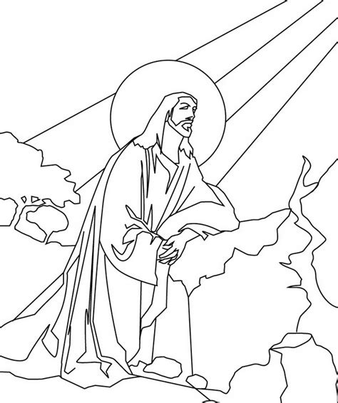 Free Printable Jesus Coloring Pages For Kids Coloring Pages Free Jesus