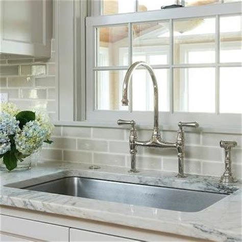 crackle subway tile backsplash design decor photos