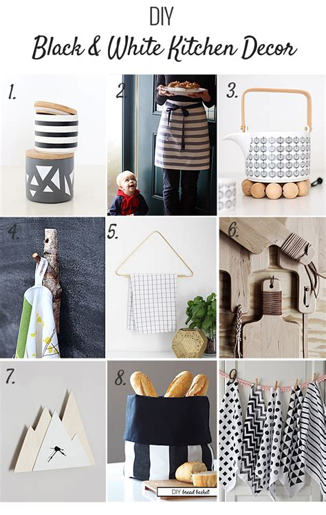 Diy Kitchen Decor Projects by Nalle S House Diy Black And White Kitchen Decor
