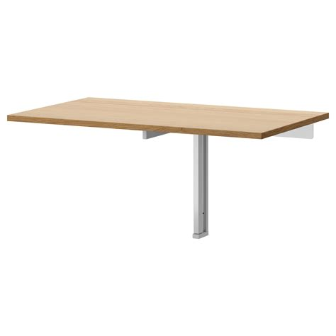 drop leaf table ikea bjursta wall mounted drop leaf table oak veneer 90x50 cm