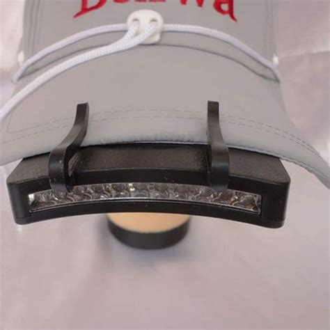 hat with led lights high quality 11 led clip on cap hat light cing walking