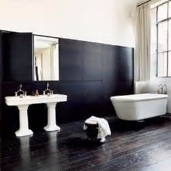 salle de bain noir et blanc design more bathroom inspiration katy elliott